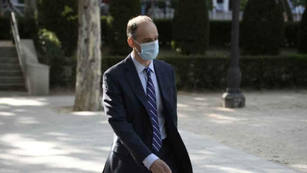 Manuel Morocho, en la Audiencia Nacional este pasado martes.