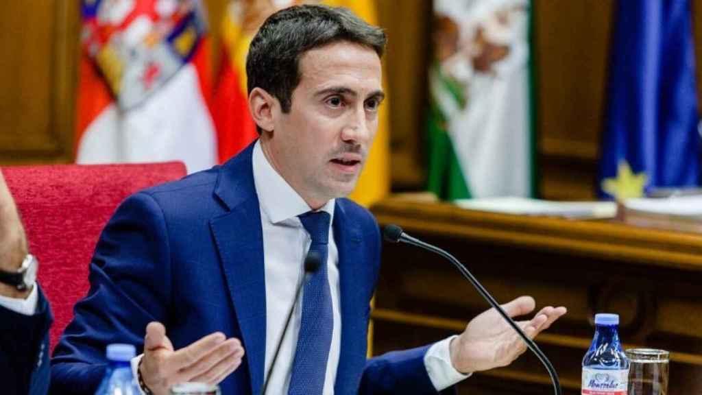 El  vicepresidente tercero de la Diputación Provincial de Almería, Óscar Liria.