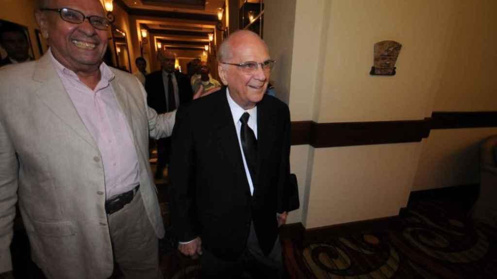 Enrique Bolaños, en una foto de archivo.