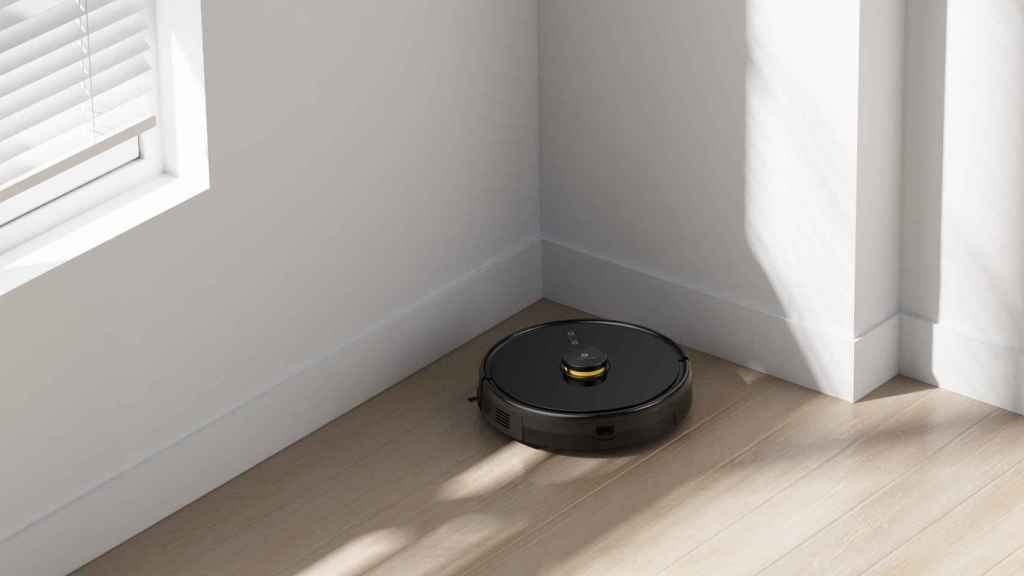 Así es el robot aspirador de Realme.