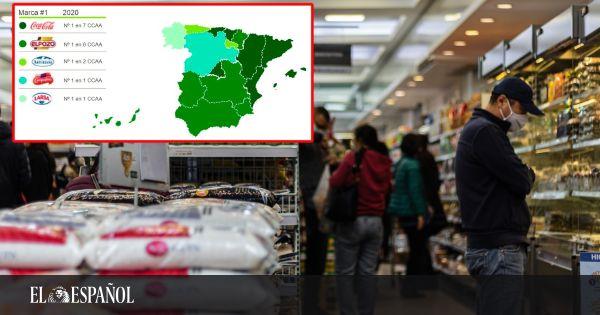 Dime en qué comunidad vives y te diré cuál de estas seis marcas compras: de Coca-Cola a la Asturiana