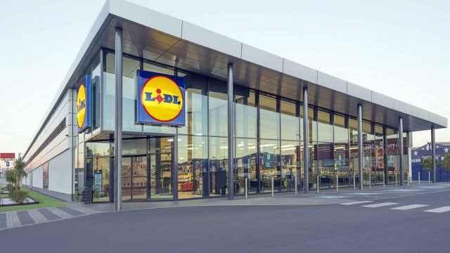 Una de las tiendas de Lidl.