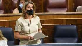 La vicepresidenta cuarta y ministra para la Transición Ecológica y el Reto Demográfico, Teresa Ribera. Efe
