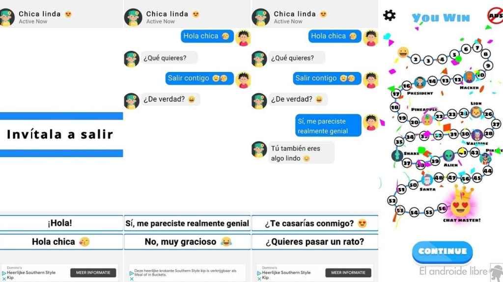 Chat master chats