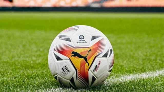 El balón de La Liga 2021/2022