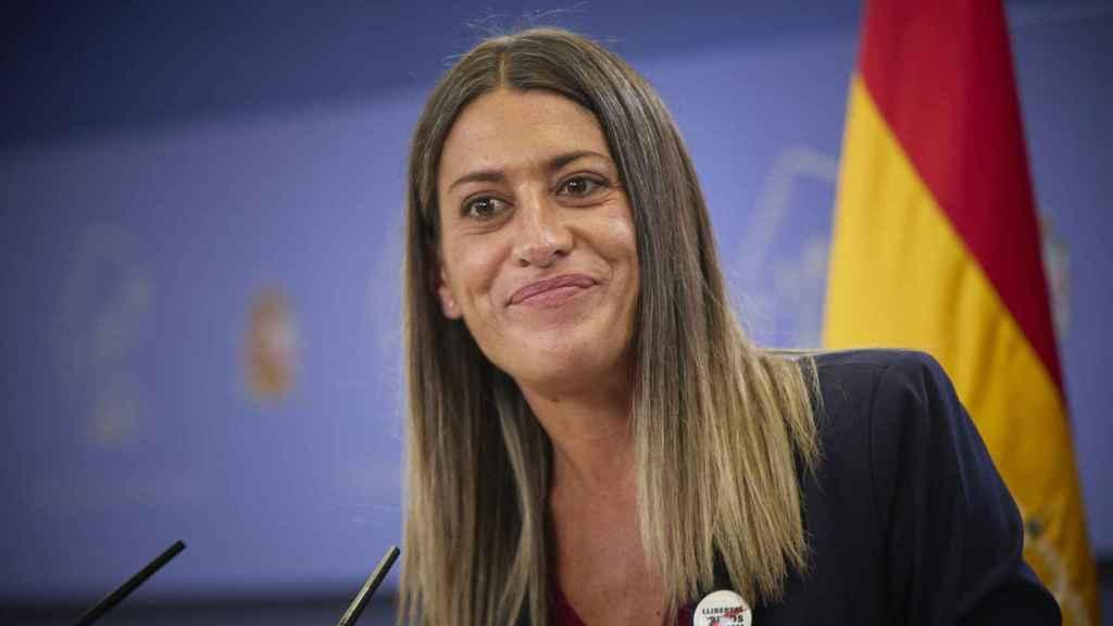 La portavoz de Junts per Catalunya, Miriam Nogueras.