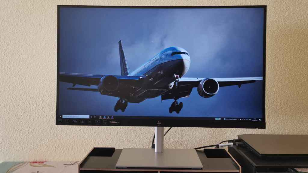 El monitor HP U28