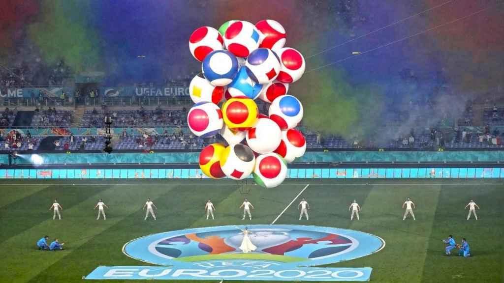 Ceremonia de inauguración de la Euro2020