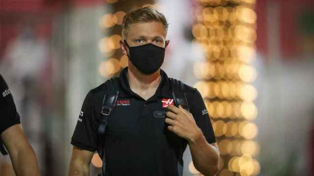 Kevin Magnussen, durante un Gran Premio de Fórmula 1