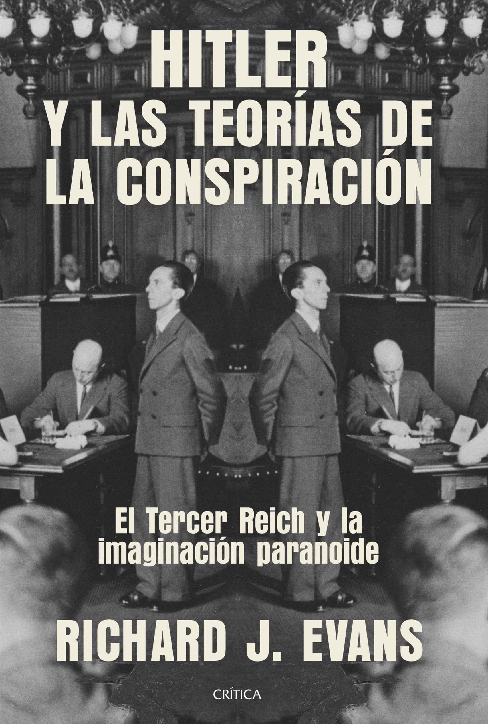 Portada de 'Hitler y las teorías de la conspiración'.