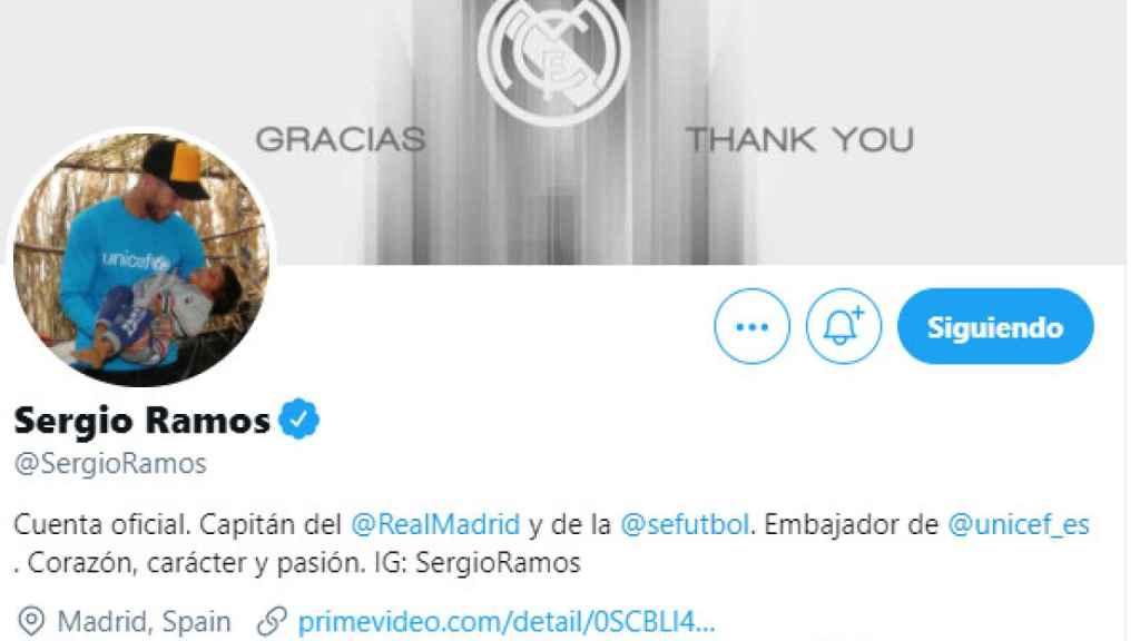 El mensaje de despedida de Sergio Ramos
