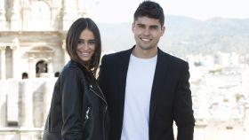 Javier Tudela y Marina Romero, en una foto de archivo.