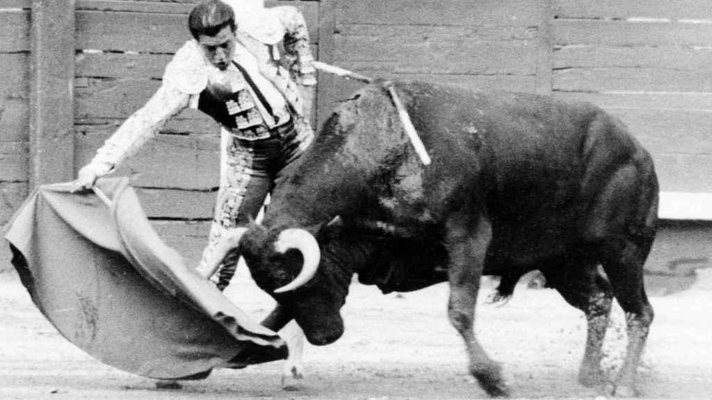Antonio Ordoñez, en una corrida en Las Ventas.