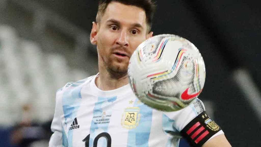Leo Messi, durante la Copa América
