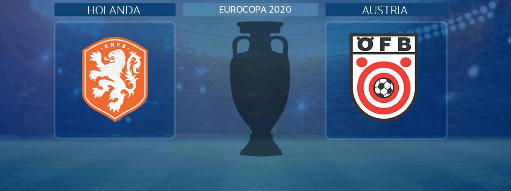 Holanda - Austria, partido de la Eurocopa 2020
