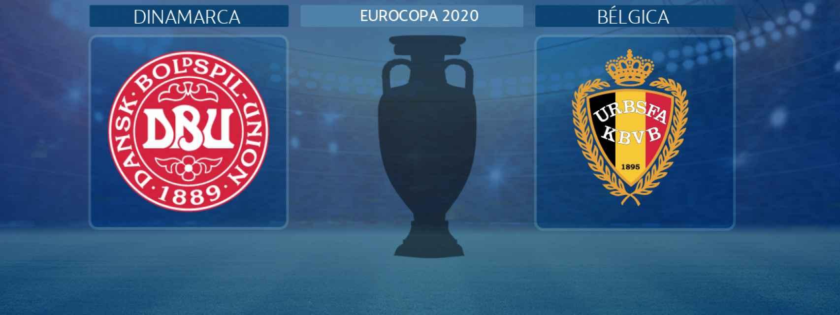Dinamarca - Bélgica, partido de la Eurocopa 2020