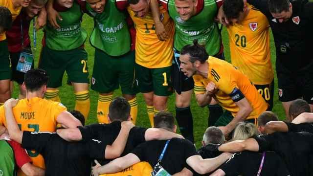 Arenga de Gareth Bale tras la victoria de la selección de Gales en la Eurocopa 2020