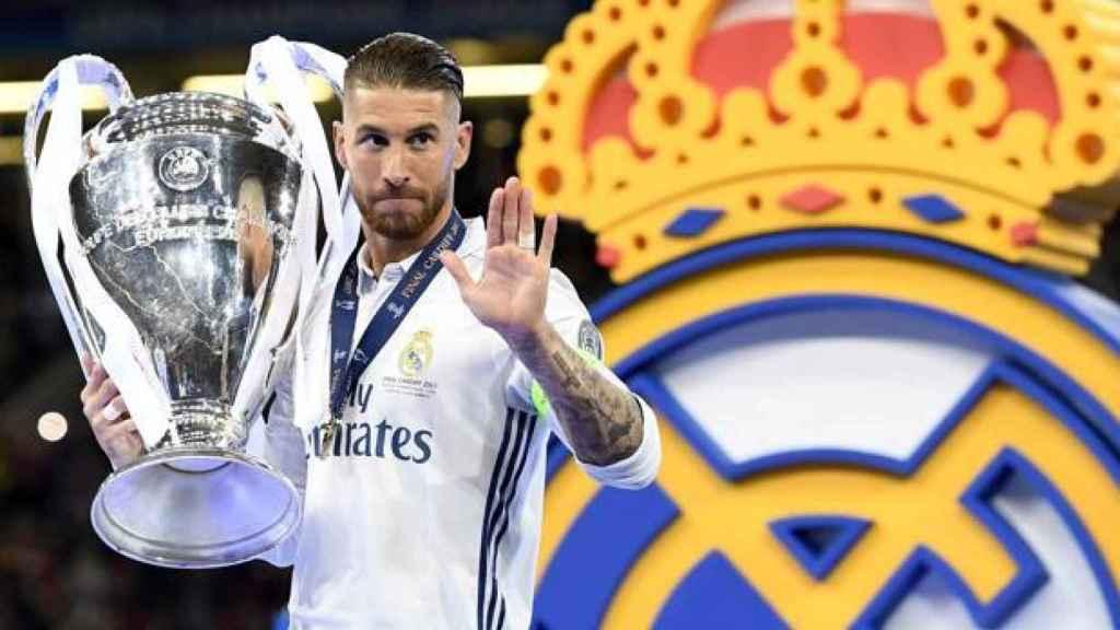 Sergio Ramos conquista su cuarta Champions League en la final de 2018 en Kiev
