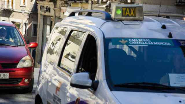 Taxi en Toledo. Imagen de archivo