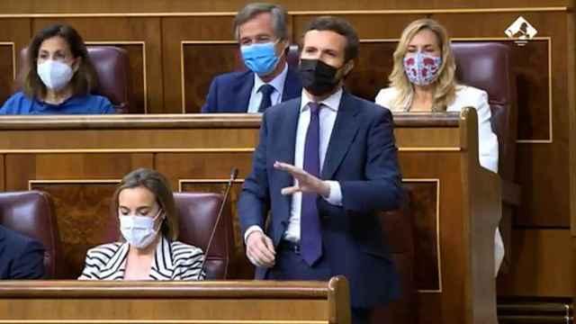 """Casado pide a Sánchez que """"aproveche su tiempo"""" tras el ridículo con Biden"""