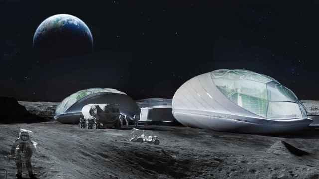Interstellar desarrolla los módulos invernadero, reciclaje y hábitat que se podrán aplicar en la primera aldea humana en la Luna.