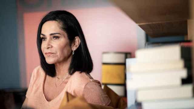 La periodista y activista por los derechos humanos Lydia Cacho.