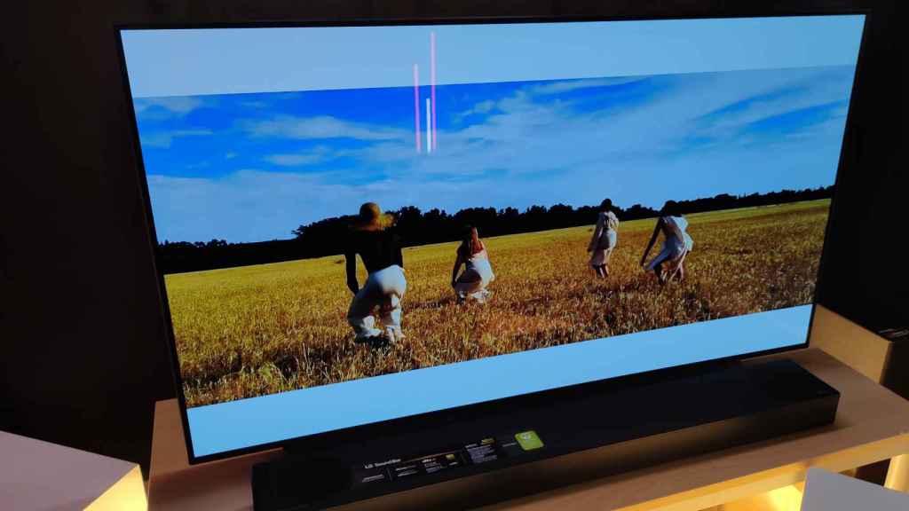 Nuevo televisor LG Oled.