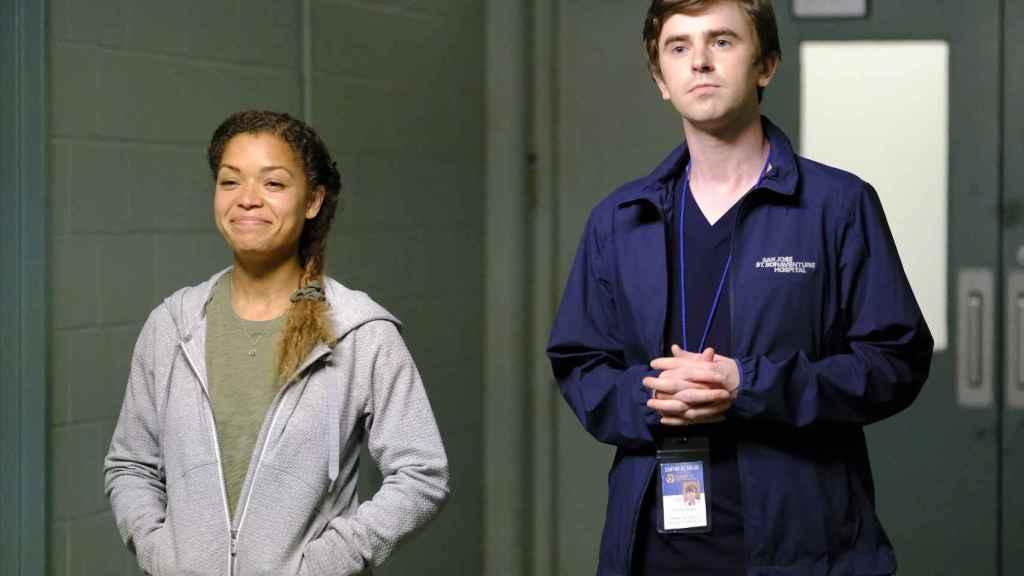 Antonia Thomas y Freddie Highmore protagonizaron las mejores escenas del final de temporada.