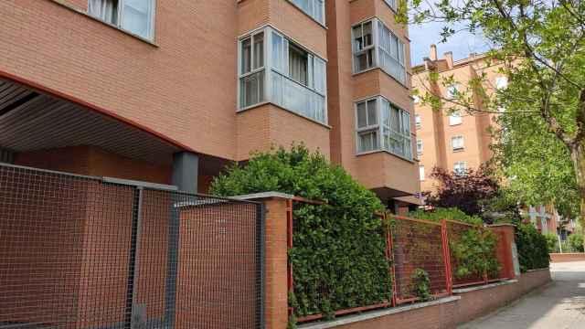 El domicilio del matrimonio, en la calle Montpellier (Madrid).
