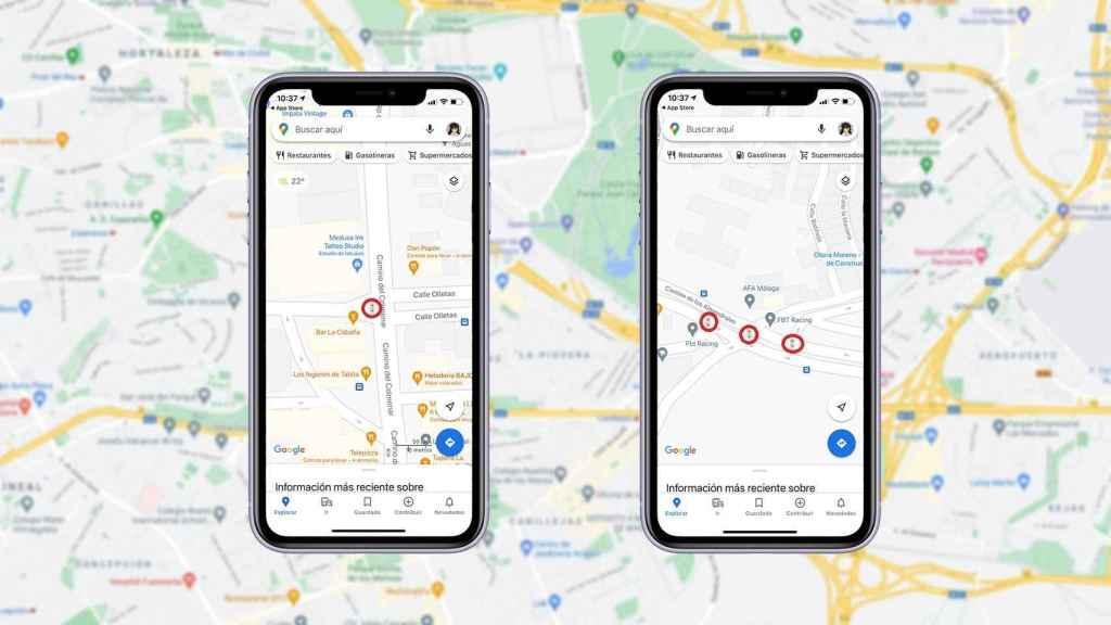 Google Maps ahora muestra los semáforos.
