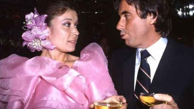 Mila Ximénez y Manolo Santana en una imagen de archivo.