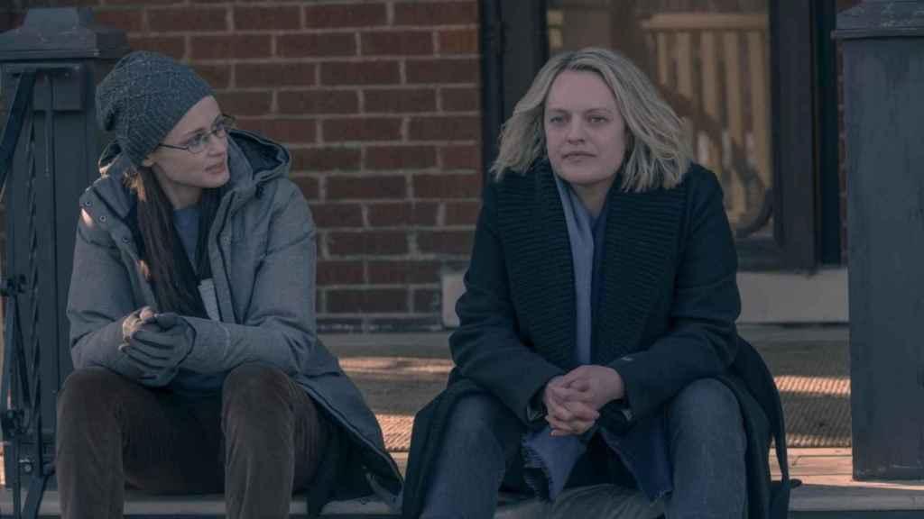 June junto a Emily, quien mejor supo entenderla esta temporada.