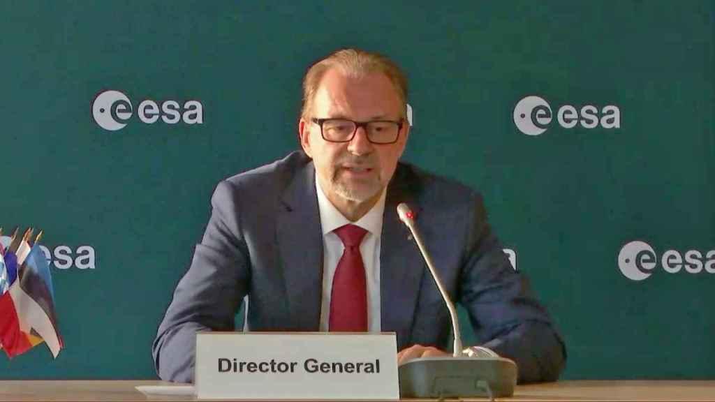 Josef Aschbacher, director general de ESA.