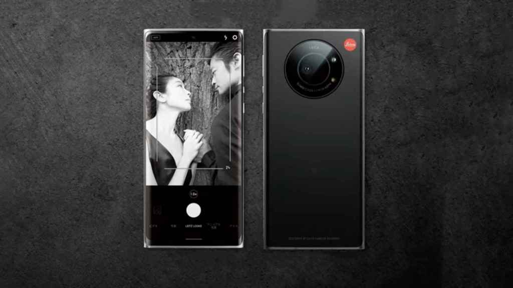 El móvil de Leica.