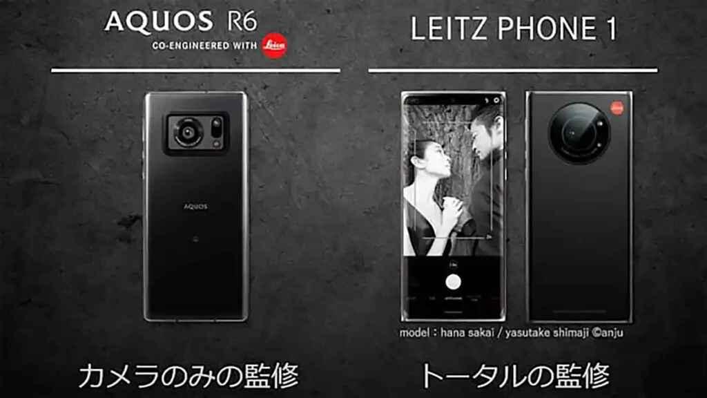 El Leitz Phone 1 es un Sharp R6 modificado.