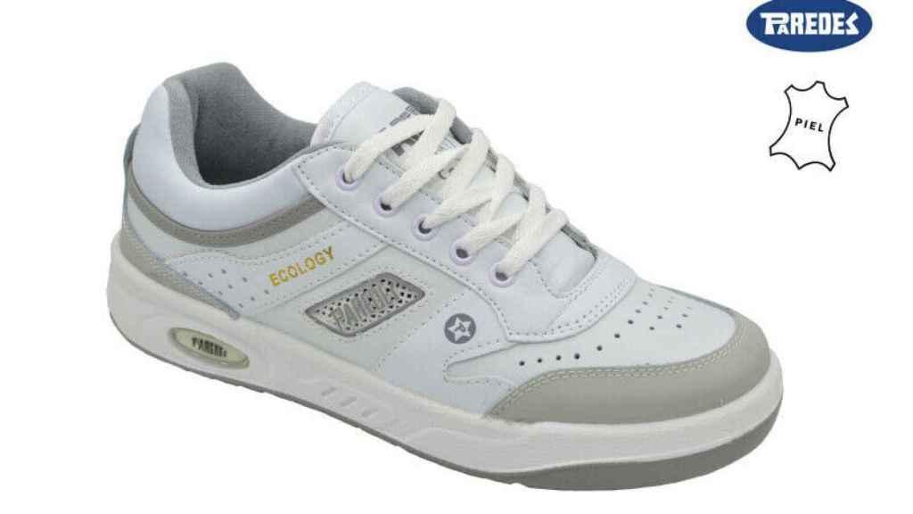 Un modelo clásico de la zapatilla deportiva Paredes.