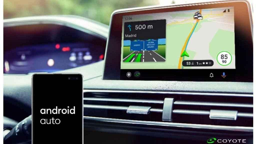 Coyote y Android Auto