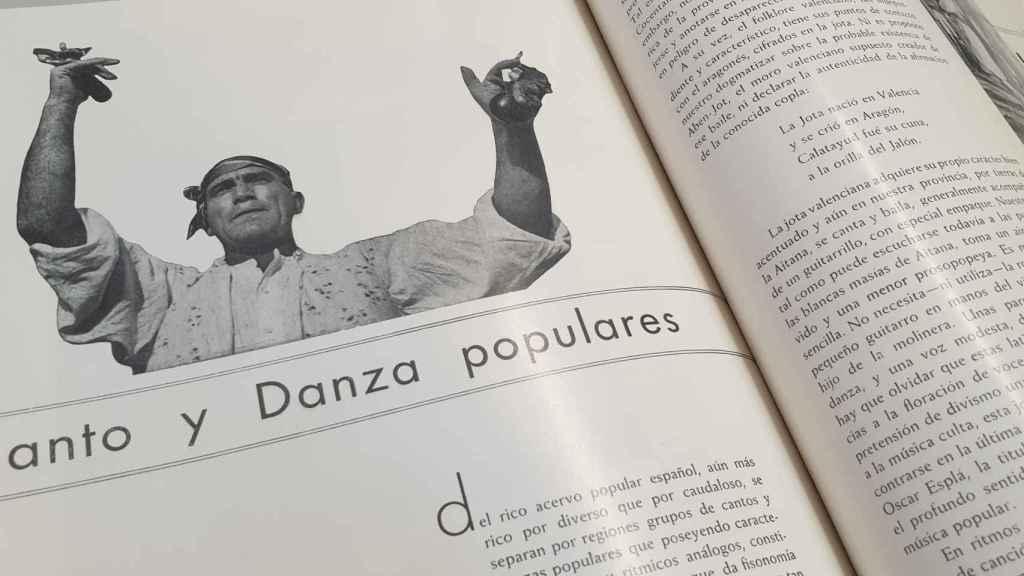 Francisco Sánchez, cuyo legado custodia el Archivo Municipal de Alicante, participó también con muchos trabajos, entre ellos el reportaje a los bailes populares.
