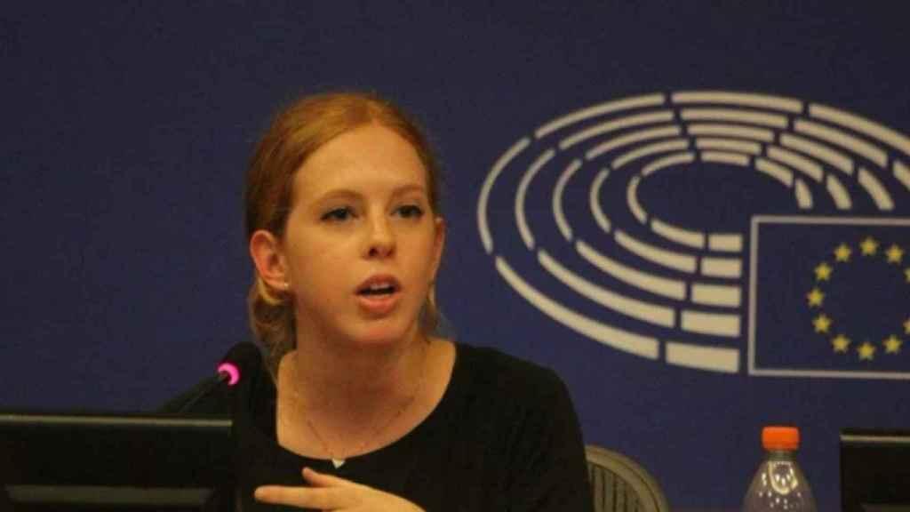 Lilith Verstrynge, durante su etapa en Bruselas.