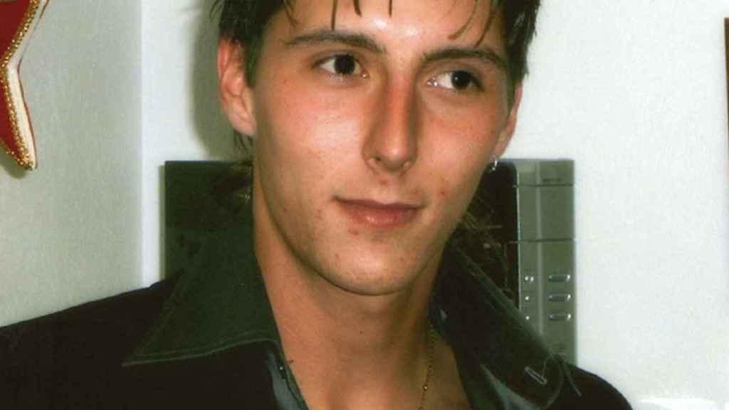 'Júnior', el hijo desaparecido de Joaquín Amills, cuando tenía 23 años.