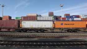 Trenes de mercancías, en una imagen de archivo.