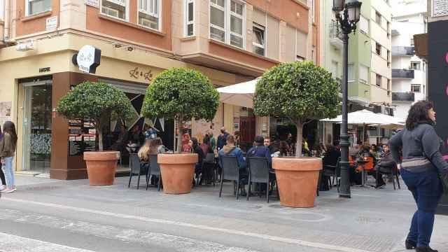 Una de las zonas de restauración de Alicante.