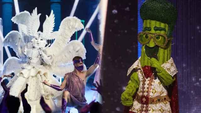 La cantante eurovisiva y la presentadora que estaban tras el Ángel y el Cactus de 'Mask Singer'