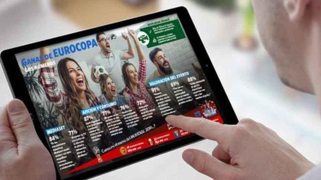 ¿Para qué sirve el botón rojo de Telecinco durante la Eurocopa 2020? ¿Cómo funciona?
