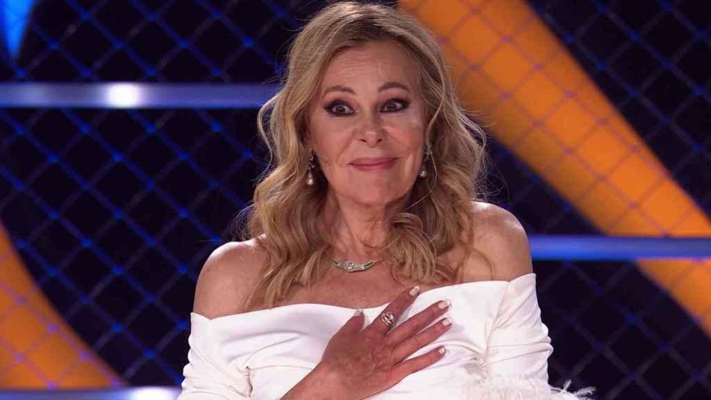 Ana Obregón ha visitado la cuarta gala de 'Mask singer' como investigadora invitada.
