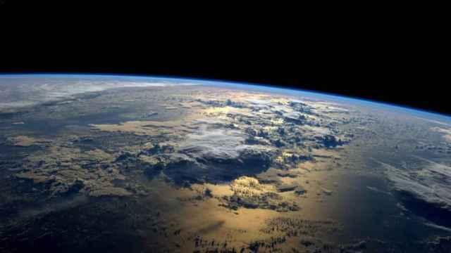 La Tierra vista desde la Estación Espacial Internacional.