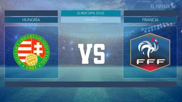 Horario internacional y dónde ver el Hungría - Francia de la Eurocopa 2020