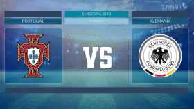 Horario internacional y dónde ver el Portugal - Alemania de la Eurocopa 2020