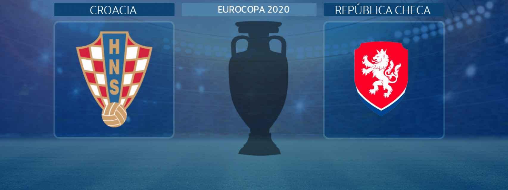 Croacia - República Checa, partido de la Eurocopa 2020