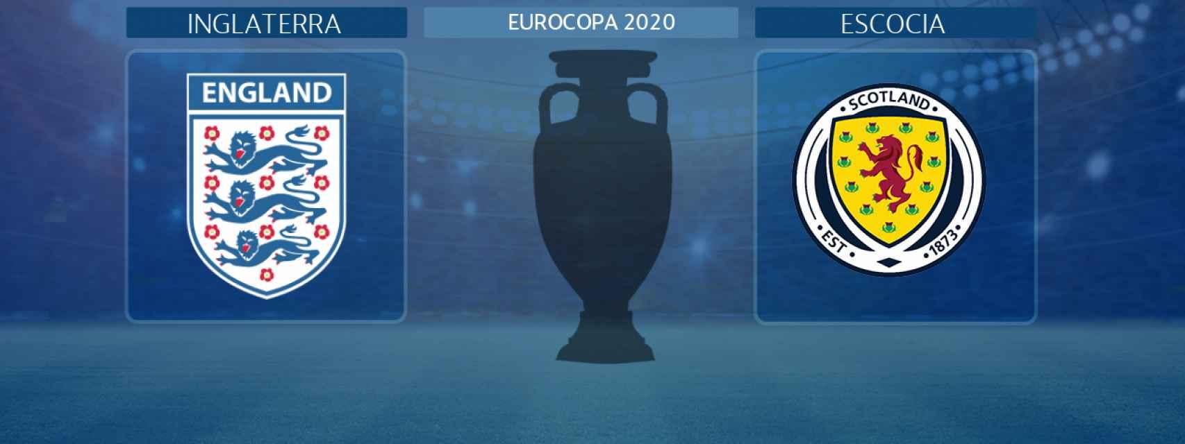 Inglaterra - Escocia, partido de la Eurocopa 2020